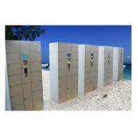 Buy cheap OEM / ODM Smart Electronic Door Locker , Indoor Security Locker For Beach from wholesalers