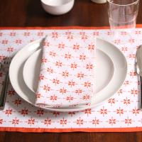 Buy cheap 30x40cm Dyed custom woven bamboo table runners place mats sunflower placemats from wholesalers