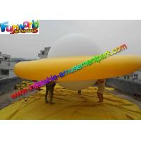 Buy cheap 0.16mm PVC Inflatable Helium Yellow UFO Saucer Balloon For Advertising from wholesalers