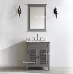 Buy cheap Modern Luxury Design Wooden Marble Top Bathroom Vanity Opening Painting from wholesalers