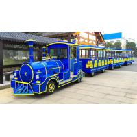 Buy cheap 62 Seats Electric Trackless Train Trackless / Outdoor Tourist Train with Lithium Battery from wholesalers