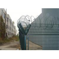 Buy cheap High Security Wire Metal Fence , 3 Foot Wire Fence Stadium Expanded Y Post from wholesalers