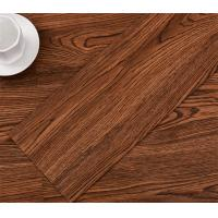 Buy cheap Anti-scratch, heat insulation wood grain embossed PVC vinyl flooring planks product