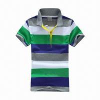 Buy cheap Promotional Men's Polo Shirt, Customized Logos and Small Quantity Orders are Welcome product