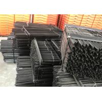 Buy cheap 1.8m black bitumen coated heavy duty Y post star pickets from wholesalers