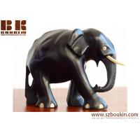 Buy cheap Black handmade wood animal sculpture Holiday Decoration,promotion gift from wholesalers