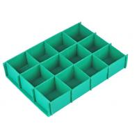 Top quality 4x8 Anti - Static Corrugated Corrugated Plastic Dividers With ISO9001 / SGS / RoHS for sale