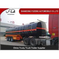 Buy cheap 45000 Liters Transport Bitumen Tanker Semi Trailer  With  Insulating Layer  For  Sale from wholesalers