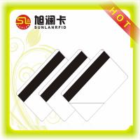 Buy cheap Magnetic Strip Contactless Smart Card ISO 14443A 13.56MHz NFC Funtion Chip PVC Material from wholesalers