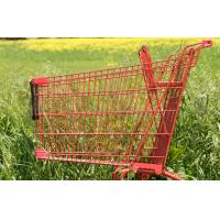 Buy cheap grocery store shopping carts Made from aluminum Color options 630x560x1000mm from wholesalers