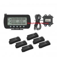 Buy cheap UART GPS communicate TPMS  tire pressure temperature real-time monitoring system 144 Wheels With Strap-on Sensors from wholesalers
