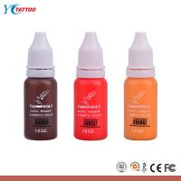 Buy cheap Professional Eternal Tattoo Ink , Permanent Tatoo Pigment & Makeup Micro Ink from wholesalers