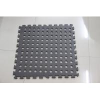 Buy cheap Black Tile Outdoor Jigsaw Mat 60*60cm camping playing kids adults garden mat safety from wholesalers