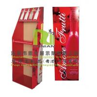 Buy cheap Wine Cardboard Floor Displays And Pop Point Of Purchase Displays from wholesalers