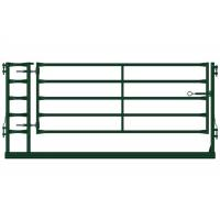 Buy cheap Heavy Duty Farm Gate Fence / Powder Coated Metal Cattle Gates Color Customized from wholesalers