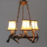 Buy cheap Art deco antler hanging chandelier light for home farmhouse lighting (WH-AC-25) from wholesalers