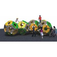 Buy cheap Spherical Freestanding Playground Equipment Climber Theme Consist Of Five Plastic Sphere from wholesalers