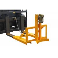 Buy cheap drum lifter forklift attachment , vertical drum lifter for machine maintenance from wholesalers