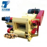 Buy cheap Forestry equipment wood log/branch process machine drum wood chipper for sale from wholesalers
