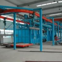 Buy cheap hanger shot blasting machine from wholesalers