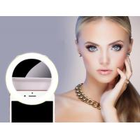 Buy cheap Rechargeable Mirror Selfie Light / 40 LED 360° Beauty Selfie Light Phone Clip from wholesalers