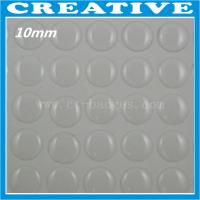Buy cheap 10mm clear epoxy sticker product