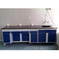 Buy cheap MDF Structure Keyboard Physics Lab Furniture Clear Access For Floor Cleaning from wholesalers