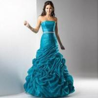 Buy cheap A-line Organza Evening Dress, 2012 Brand New from wholesalers