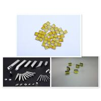 Buy cheap 3.5X3.5X1.1 yellow Synthetic industrial CVD MCD diamond plate from wholesalers