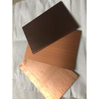 Buy cheap Thermal Resistance Copper Composite Panel / Decorative Copper Panels For Cupboard from wholesalers
