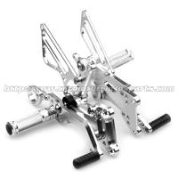 Buy cheap Cnc Milling Motorcycle Rear Sets Aluminum Rearset Motorcycle Parts Motorcycle Footpegs from wholesalers