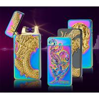 Buy cheap dragon eager usb rechargeable lighter electronic double ARC lighter from wholesalers