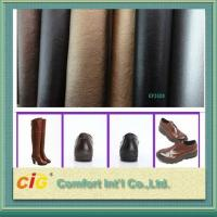 Buy cheap REACH Listed Custom Pvc Synthetic Leather Materials For Making Shoe , Abrasion from wholesalers