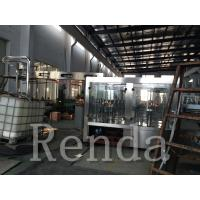 Automatic Water Bottle Filling Machine / Wrapping Machine 380V CE Certification