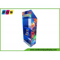 Buy cheap Point Of Sale Toy Display Stand Free Standing FSDU With Three Shelves FL072 from wholesalers