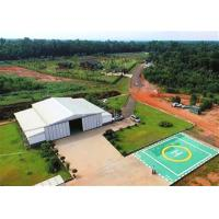 Buy cheap Steel Structure Helicopter Hangar Construction Steel Frame Structure Maintenance Workshop from wholesalers