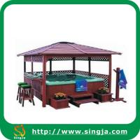 Buy cheap Outdoor Wooden Gazebo(WG-01) from wholesalers