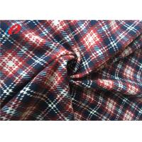 Buy cheap Microfiber Printed Imitated Cotton Velvet Fabric , Velvet Upholstery Fabric For Coat from wholesalers