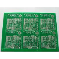 Buy cheap Rigid Industrial PCB Board with HASL , FR4 Base 2 Layer Board For Industrial Use from wholesalers