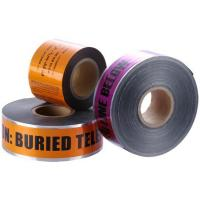 Buy cheap Customized Orange High - Strength 200m Underground Detectable Warning Tape from wholesalers