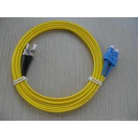 Buy cheap High tensile strength, flexible SC - ST Fiber Optic Patch Cord, Insertion Loss ≤ 0.2dB from wholesalers