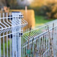 Buy cheap SGS 3D Farm Galvanized Welded Wire Mesh Panels , Silver Welded Fence Panels from wholesalers
