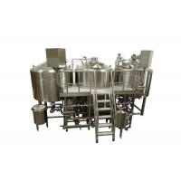 Buy cheap Gas Heating 60BBL Three Vessel Brewing System Semi - Auto Beer Brewery Equipment from wholesalers