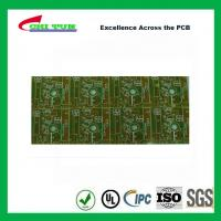 Buy cheap Custom Single Sided Printed Circuit Board 1layer FR4 1.0mm Punching White Sillkscreen from wholesalers