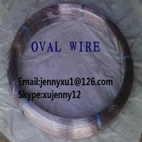 Buy cheap Hot Dipped Galvanized oval wire for South America market from wholesalers