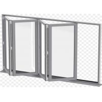 Buy cheap Modern aluminium folding windows outward opening window for apartment from wholesalers