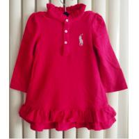 China 1 to 6year stand collar long  dress  Fashion polo skirt on sale