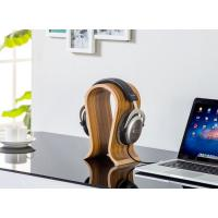 Buy cheap Long Durability Headphone Stand Holder Polish Surface Processed Zebra Color from wholesalers
