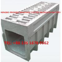 Buy cheap Monoblock Rain Drain Polymer Concrete Drainage Channel from wholesalers