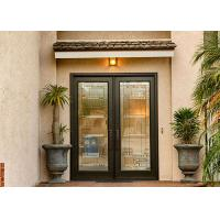 Buy cheap Anti Deformation Exterior Wood Doors With Glass , Simple Main Door Designs For Home from wholesalers